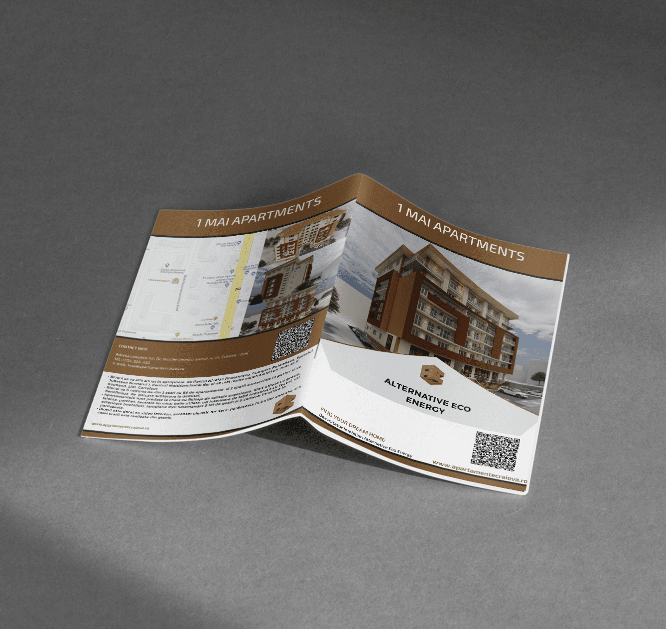 Hold Marketing Agentie de publicitate - Alternatice Eco Energy catalog design