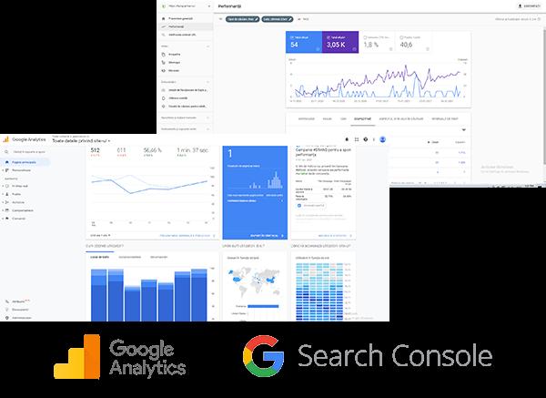 Servicii optimizare seo - Tools utilizate - Screenshot Google Tools
