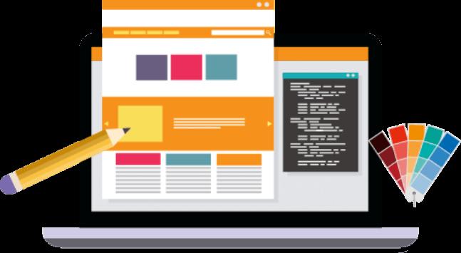 Creare site web - poza reprezentativa conceptul din spatele creatiei