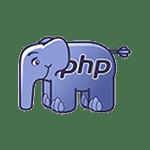 Creare site web - PHP logo